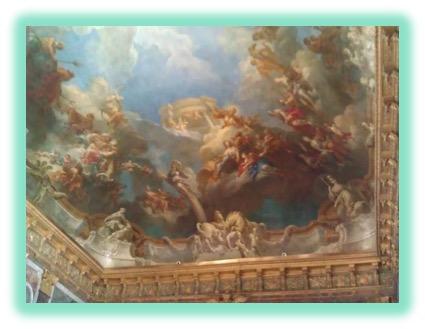 13 Versailles Ceiling Painting
