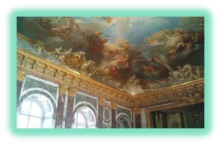 14 Versailles Ceiling Painting