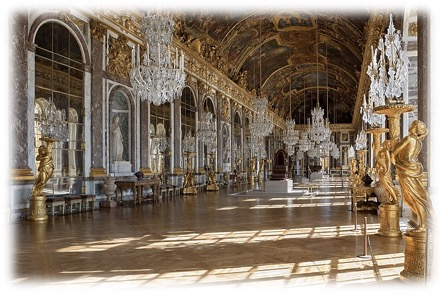 3 Versailles Hall of Mirrors