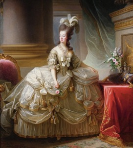 5 Marie Antoinette White Dress