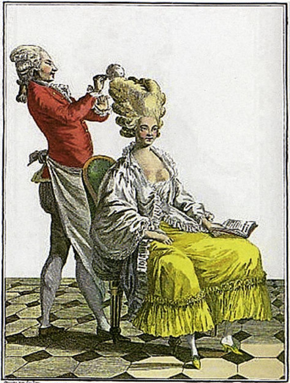 10 Marie Antoinette's hairdresser Leonard Autie
