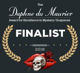 Daphne du Maurier Finalist 2018 Romance Author 10 percent