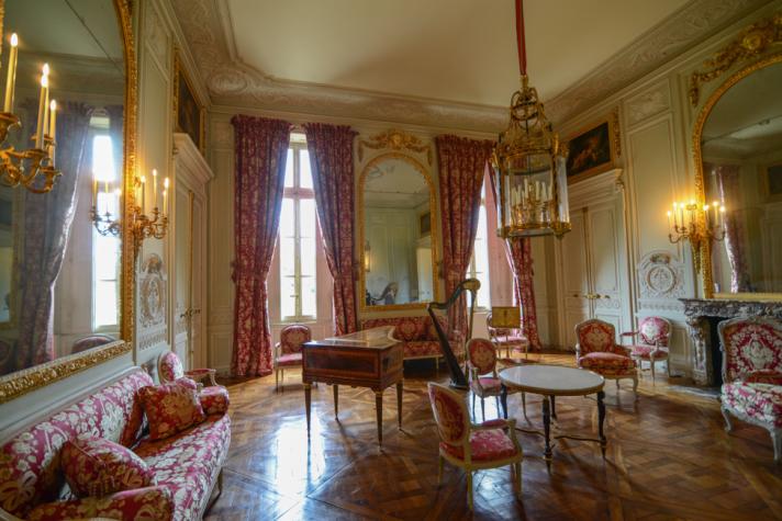 Marie Antoinette's Petit Trianon Salon