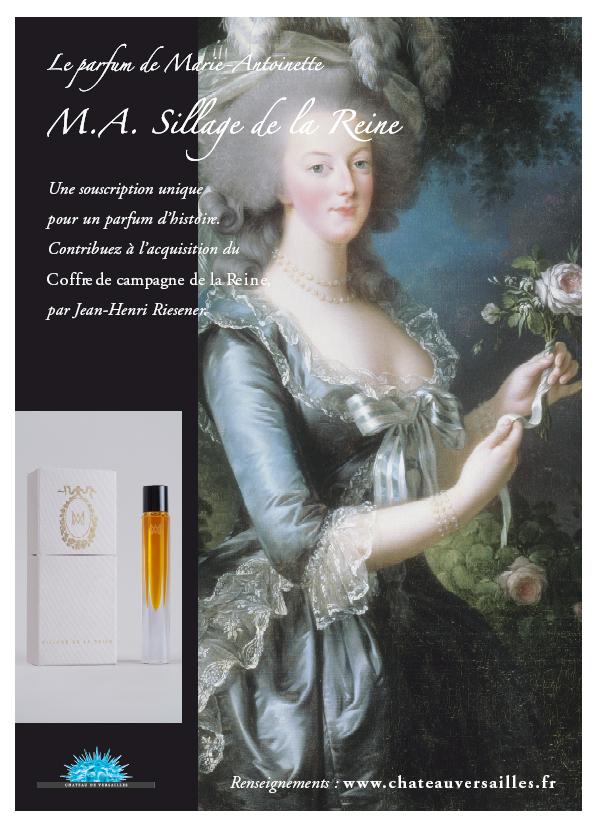 Sillagedelareine_Affiche perfume photo